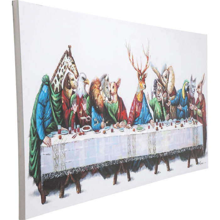 Картина Touched Last Supper 100x240cm
