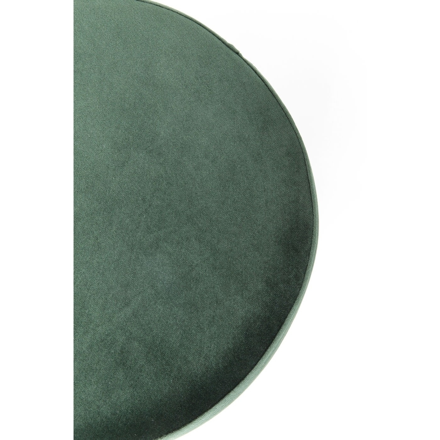 Пуф Cherry Dark Green Brass Ø35cm