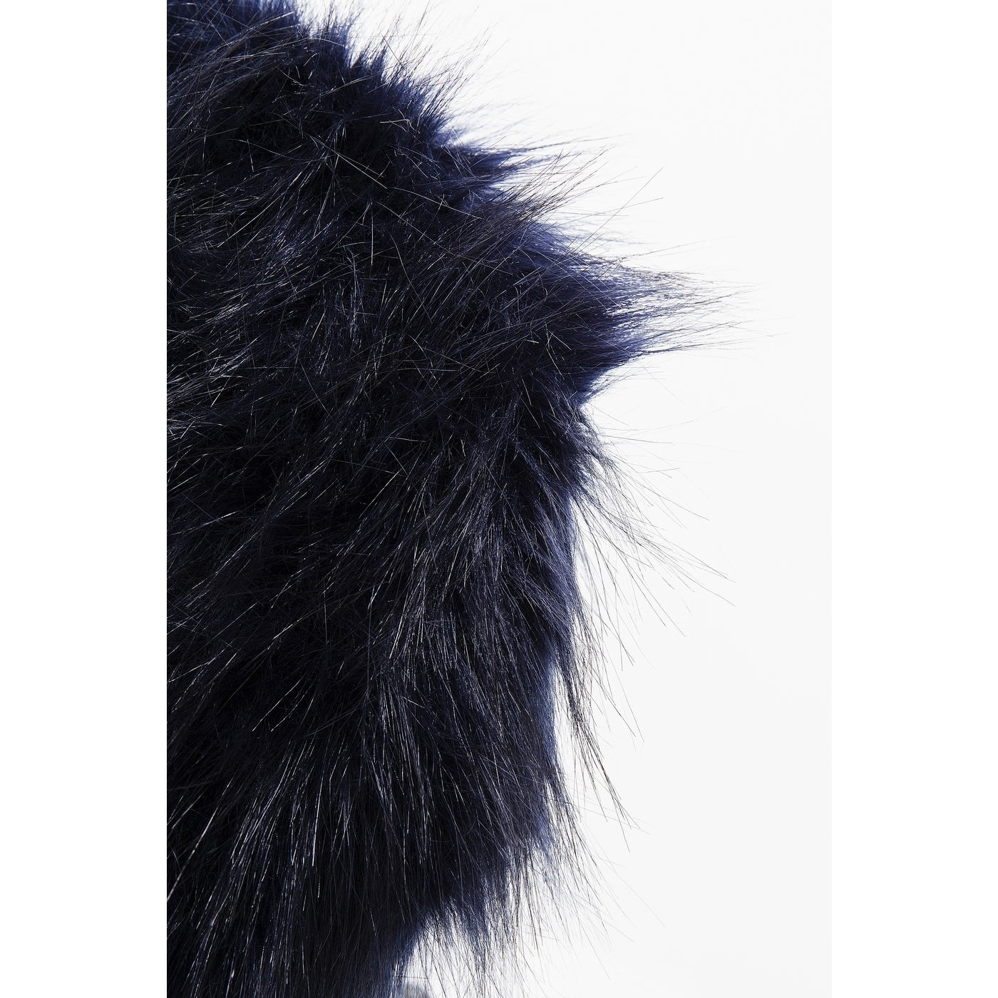Стул  Fur Dark Blue Ø30cm